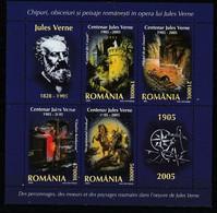 2005 - Centenaire Jules Verne Mi No Block 352 - Gebraucht