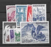 1944 MNH Monaco, Michel 288-96 Postfris** - Nuovi
