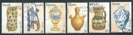 Espagne YT N°2506/2511 Artisanat Espagnol Art De La Céramique Oblitéré ° - 1981-90 Used