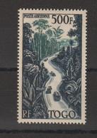 Togo 1954 Route à Travers La Foret PA 23 1 Val ** MNH - Neufs
