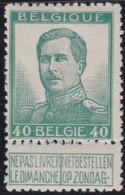 Belgie   .   OBP    .  121-V4       .   **    .    Postfris   .   /   .   Neuf  SANS  Charnière - 1912 Pellens
