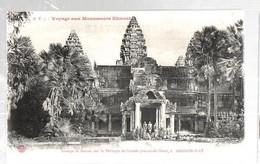 CAMBODGE TEMPLE ANGKOR ANIMEE - Cambodge