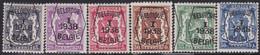 Belgie   .   OBP    .  PRE 133/138    .   **    .    Postfris   .   /    .   Neuf  SANS  Charnière - Sobreimpresos 1936-51 (Sello Pequeno)