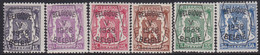 Belgie   .   OBP    .  PRE 357/362   .     **    .    Postfris   .   /    .   Neuf  SANS  Charnière - Typo Precancels 1936-51 (Small Seal Of The State)