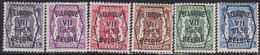 Belgie   .   OBP    .  PRE 369/374      .     **    .    Postfris   .   /  .   Neuf  SANS  Charnière - Typo Precancels 1936-51 (Small Seal Of The State)