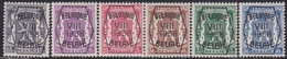 Belgie   .   OBP    .  PRE 375/380     .     **    .    Postfris   .   /  .   Neuf  SANS  Charnière - Typo Precancels 1936-51 (Small Seal Of The State)