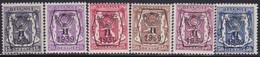Belgie   .   OBP    .  PRE 411/416    .     **    .    Postfris   .   /     .   Neuf  SANS  Charnière - Sobreimpresos 1936-51 (Sello Pequeno)