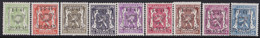 Belgie   .   OBP    .  PRE 455/463     .     **    .    Postfris   .   /    .   Neuf  SANS  Charnière - Sobreimpresos 1936-51 (Sello Pequeno)
