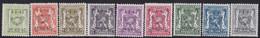 Belgie   .   OBP    .  PRE 475/483    .     **    .    Postfris   .   /     .   Neuf  SANS  Charnière - Sobreimpresos 1936-51 (Sello Pequeno)