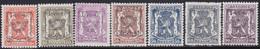 Belgie   .   OBP    .  PRE  567/573     .     **    .    Postfris   .   /    .   Neuf  SANS  Charnière - Sobreimpresos 1936-51 (Sello Pequeno)