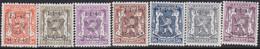 Belgie   .   OBP    .  PRE  574/580    .     **    .    Postfris   .   /    .   Neuf  SANS  Charnière - Sobreimpresos 1936-51 (Sello Pequeno)