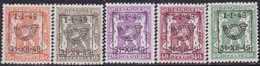 Belgie   .   OBP    .  PRE  581/588    .     **    .    Postfris   .   /     .   Neuf  SANS  Charnière - Tipo 1936-51 (Sigillo Piccolo)