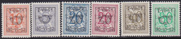 Belgie   .   OBP    .  PRE  614/619  .     **    .    Postfris   .   /    .   Neuf  SANS  Charnière - Sobreimpresos 1936-51 (Sello Pequeno)