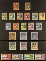 1922-35 KGV MINT COLLECTION An Attractive, ALL DIFFERENT Collection Presented On A Protective Page That Includes 1922-29 - Gambia (...-1964)