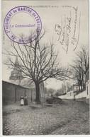 CPA  Arleux En Gohelle (62) RARE Le Tilleul Bord De Route Près De L'Eglise Cachet 2 Régiment De Marche Zouaves Tranchées - Sonstige Gemeinden