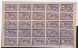 EC-568: FRANCE: Lot Avec N°144** 1/3 De Planche TTB Centrage - 1900-27 Merson