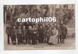 - CPA PONS (17) - Une Visite De M. Emile Combes Aux Enfants Serbes Réfugiés à L'école Primaire De Garçons (1916) - - Pons