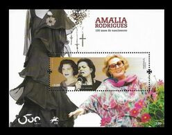 Portugal 2020 Mih. 4640 (Bl.464) Music. Singer Amalia MNH ** - Unused Stamps