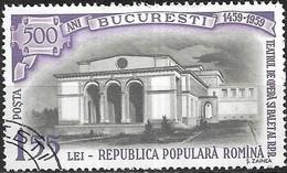 ROMANIA 1959 500th Anniversary Of Bucharest - 1l.55, Opera House FU - Oblitérés