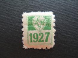 Vignette - Label Stamp - Vignetta Filatelico Aufkleber France   C.A.E.N.  1927    à Voir - Andere