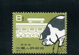 CHINE 1960 O - Gebraucht