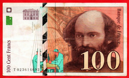 -- 100 FRANCS / PAUL CEZANNE De 1997 -- - 100 F 1997-1998 ''Cézanne''