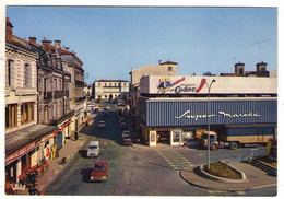 GF (40) 206, Mont De Marsan, Théojac A2, Le Centre, Super Marché Codec, Camion, état - Mont De Marsan