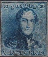 Timbre Bleu Ardoise - 1849 Epaulettes