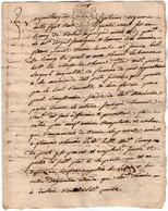 VP18.186 - Cachet De Généralité BORDEAUX - Acte De 1786 - Bail à Ferme - Seals Of Generality