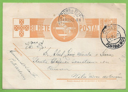 História Postal - Filatelia - Stationery - Philately - Ourém - Porto De Mós - Leiria - Portugal - Leiria