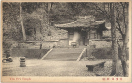 CPA Chine Yün Chti Temple - Cina