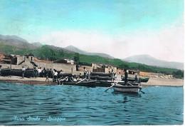 B4633- Messina, Furci Siculo, Spiaggia, Viaggiata 1974 F. G. Primi Colori - Messina