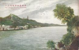 CPA Chine The Pao Su Pagoda West-Lake Hangchow - China