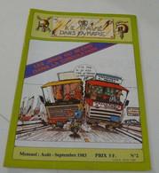Moto,Le Pavé Dans La Mare Août-sept 1983 N°=2 - 1950 - Heute