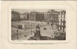 59   Lille  -  Monument  Du  General Faidherbe  Et La Prefecture - Lille