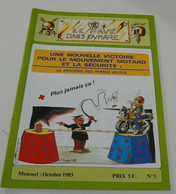 Moto,Le Pavé Dans La Mare(Moto) Octobre 1983 N°=3 - 1950 - Heute
