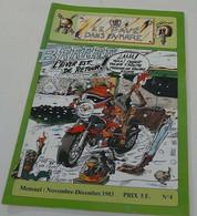 Le Pavé Dans La Mare(Moto) Nov-décembre 1983 N°=4 - 1950 - Heute