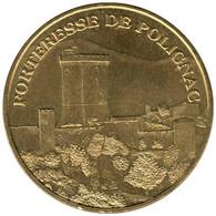 43-0648 - JETON TOURISTIQUE MDP - Forteresse De Polignac - 2007.2 - 2007
