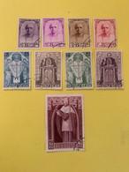 Belgique 1932 Cardinal Mercier Complete ( Scott B114-B122) ( Y Et T 342 à 350 ) 1930 Rares - Gebruikt