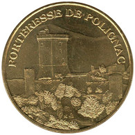 43-0648 - JETON TOURISTIQUE MDP - Forteresse De Polignac - 2007.5 - 2007