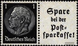 German Empire W97 Unmounted Mint / Never Hinged 1941 Hindenburg WZ 4 - Unused Stamps