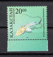 Kazakistan - 1996. Storione Creduto Estinto. Sturgeon Believed To Be Extinct MNH - Pesci