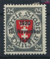Danzig 224 Mit Falz 1930 Aufdruckausgabe (9643386 - Danzig