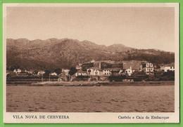 Vila Nova De Cerveira - Castelo E Cais De Embarque. Viana Do Castelo. Portugal. - Viana Do Castelo
