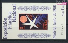 Spanien Block14 (kompl.Ausg.) Postfrisch 1958 Briefmarkenausstellung (9636806 - 1951-60 Ungebraucht