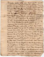 VP18.188 - Cachet De Généralité BORDEAUX - 2 Actes De 1740 Concernant Mr Jean Baptiste LESPINASSE Maître En Chirurgie - Seals Of Generality