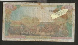 France > Saint Pierre Et Miquelon / 10 Nouveaux Francs Sur 500 Francs 1960 - Other