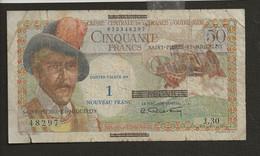 France > Saint Pierre Et Miquelon / 1 Nouveau Franc Sur 50 Francs 1960 ? - Other