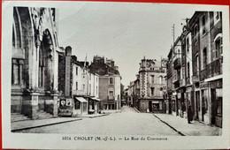 49 - CHOLET  (M. Et L.)  - La Rue Du Commerce - Cholet