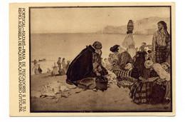 PORTUGAL - NAZARÉ  [ 0116  ] - PRAIA DOS PESCADORES  ILUSTRADOR ROQUE GAMEIRO PESCA FISHING Angeln Fischen - Leiria